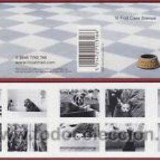 Sellos: GRAN BRETAÑA 2001 CARNET NUEVO LUJO MASCOTAS PERROS Y GATOS MNH *** SC. Lote 54686071