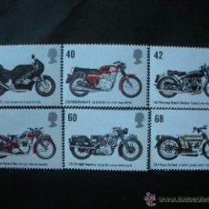Sellos: GRAN BRETAÑA 2005 IVERT 2661/6 *** MOTOCICLETAS - MOTOS. Lote 54809430