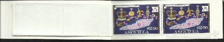 Sellos: ANGUILLA 25º AÑOS CORONACION REINA ELIZABETH II CARNET DE LUJO CON BLOQUES DE SELLOS BARCOS - Foto 5 - 55121525