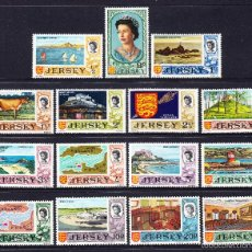 Sellos: JERSEY 28/42** - AÑO 1971 - PAISAJES. Lote 56113206