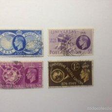 Sellos: GRAN BRETAÑA 1949 UNION POSTAL UNIVERSAL USADO. Lote 57024299