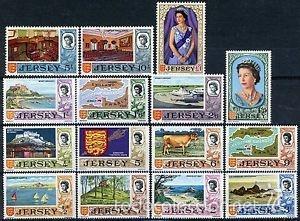 JERSEY 1969 IVERT 5/19 *** REINA ISABEL II Y MOTIVOS DIVERSOS (Sellos - Extranjero - Europa - Gran Bretaña)