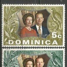 Timbres: DOMINICA COLONIA BRITANICA YVERT NUM. 346/347 SERIE COMPLETA USADA. Lote 61963044