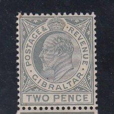 Sellos: GIBRALTAR 57 CON CHARNELA, EDUARDO VII. Lote 62896892