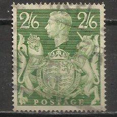 Sellos: 5015-SELLO CLASICO JORGE VI AÑO 1939 Nº 224.VALOR 12,00€,PERFECTO USADO.. Lote 63438600