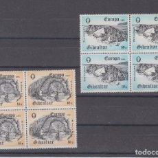 Sellos: GIBRALTAR 471/2 B4 SIN CHARNELA, TEMA EUROPA, GRANDES OBRAS DE LA HUMANIDAD. Lote 63644207