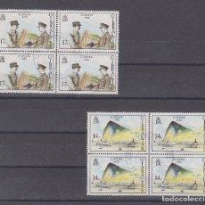 Sellos: GIBRALTAR 458/9 B4 USADA, TEMA EUROPA, HECHOS HISTORICOS,. Lote 63644651