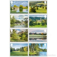 Sellos: GREAT BRITAIN 2016 - GREAT BRITAIN 2016 - LANDSCAPE GARDENS STAMP SET MNH. Lote 64458242