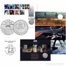 Great Britain 2016 - STAR WARS Medal Cover - Battles - Limited Edition