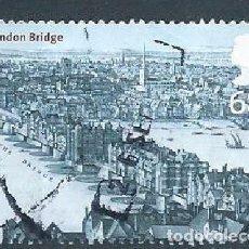 Sellos: GRAN BRETAÑA GB 2002 BRIDGES OF LONDON: LONDON BRIDGE, C1670 68P SG 2313 SC 2073 MI 2047 YV 2367. Lote 269936633
