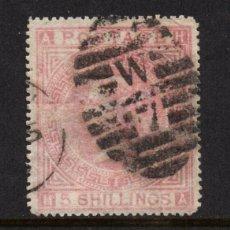 Sellos: GRAN BRETAÑA 40 - AÑO 1867 - REINA VICTORIA. Lote 68092029