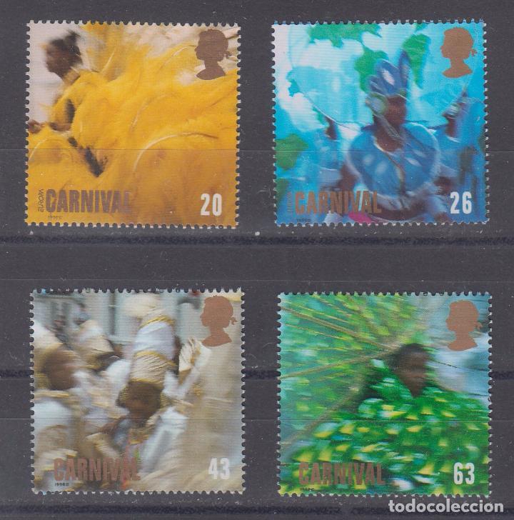 GRAN BRETAÑA 3052/5 SIN CHARNELA, CARNAVAL, (Sellos - Extranjero - Europa - Gran Bretaña)