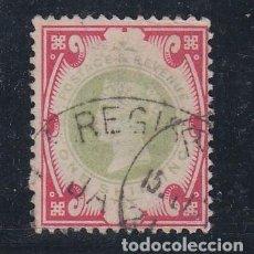 Sellos: GRAN BRETAÑA 104 USADA, 50 ANIVº REINADO VICTORIA Y PROCLAMACION IMPERIO DE LAS INDIAS. Lote 69595293