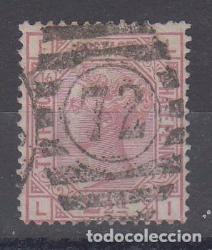 GRAN BRETAÑA 56 USADA, PLANCHA 16, REINA VICTORIA (Sellos - Extranjero - Europa - Gran Bretaña)