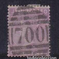 Sellos: GRAN BRETAÑA 34 PLANCHA 8 USADA, REINA VICTORIA. Lote 69602605