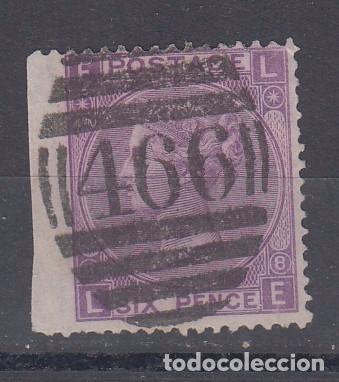 GRAN BRETAÑA 34 PLANCHA 8 USADA, REINA VICTORIA (Sellos - Extranjero - Europa - Gran Bretaña)
