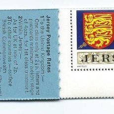 Sellos: JERSEY, CARNET SERIE GENERAL 1971, MNH**. Lote 69902781