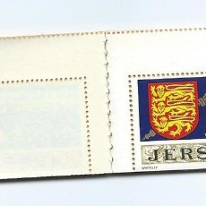 Sellos: JERSEY, CARNET SERIE GENERAL 1971, 6 VALORES, MNH**. Lote 69903029