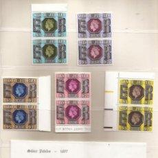 Sellos: GRAN BRETAÑA - GREAT BRITAIN QUEEN ELIZABETH II 1977 SILVER JUBILEE STAMPS MNH***. Lote 74268427