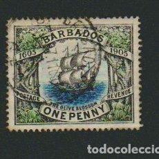 Sellos: BARBADOS( COLONIA BRITÁNICA ).ONE PENNY.1906.. Lote 74980939