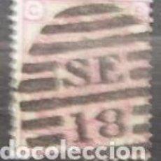 Sellos: INGLATERRA - IVERT Nº 51 - PLANCHA 12 (Y059). Lote 75086155