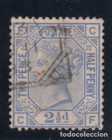 GRAN BRETAÑA 62 PLANCHA 22 USADA, VICTORIA (Sellos - Extranjero - Europa - Gran Bretaña)