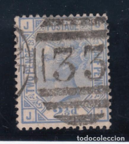 GRAN BRETAÑA 62 PLANCHA 23 USADA, VICTORIA (Sellos - Extranjero - Europa - Gran Bretaña)