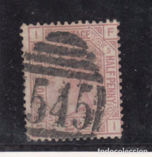 GRAN BRETAÑA 56 PLANCHA 5 USADA, VICTORIA (Sellos - Extranjero - Europa - Gran Bretaña)