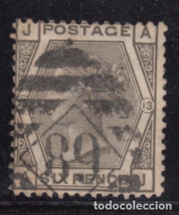 GRAN BRETAÑA 52 PLANCHA 13 USADA, VICTORIA (Sellos - Extranjero - Europa - Gran Bretaña)