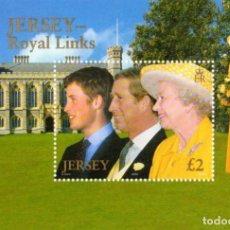 Sellos: JERSEY - 2003 - ROYAL LINKS MINIATURE SHEET - MNH . Lote 81555940