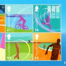 Sellos: GUERNSEY 2003 - DEPORTES, MNH, HB. Lote 81556480