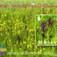 Sellos: JERSEY BANGKOK 2003 INTERNATIONAL STAMP EXHIBITION MINIATURE SHEET - MNH. Lote 81557020