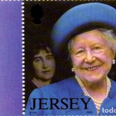 Sellos: JERSEY 2002 QUEEN MOTHER DEATH MNH . Lote 81755808