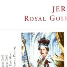 Sellos: GREAT BRITAIN/JERSEY - 2002 ROYAL GOLDEN JUBILEE MINT NH. Lote 81756312
