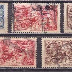 Sellos - AA23-Gran Bretaña YT 153/55 y 198/99 - 81852836