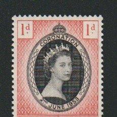 Sellos: FALKLAND ISLANDS ( COLONIA BRITÁNICA ).CORONACIÓN DE LA REINA ISABEL II.AÑO 1953.NUEVO.. Lote 83156912