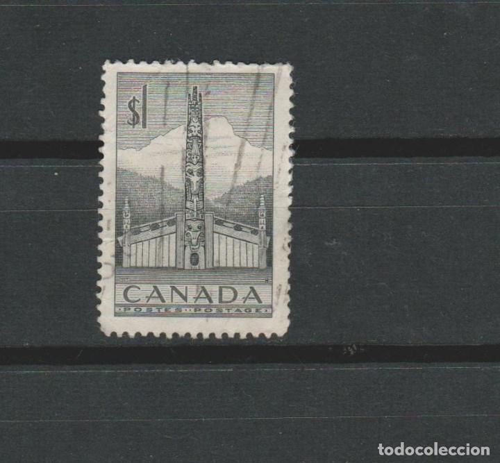 LOTE D2 SELLOS SELLO CANADA 1952 DE A DOLLAR (Sellos - Extranjero - Europa - Gran Bretaña)