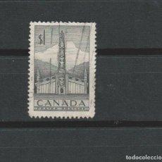 Sellos: LOTE D2 SELLOS SELLO CANADA 1952 DE A DOLLAR. Lote 84865071