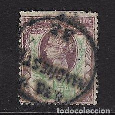Sellos: GRAN BRETAÑA - CLÁSICO. YVERT Nº 93 USADO. Lote 90039888