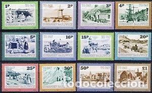 GUERNESEY 1982 TASA IVERT 30/41 *** VISTAS DE GUERNESEY (Sellos - Extranjero - Europa - Gran Bretaña)