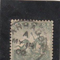 Sellos - BARBADOS 1892 . SG NRO. 106- USADO - 95746711