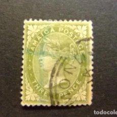 Sellos: JAMAICA 1883 - 96 LA REINE VICTORIA YVERT N 21 FU WMK CROWN CA . Lote 95754807