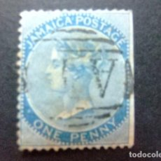 Sellos: JAMAICA 1870 - 72 LA REINE VICTORIA YVERT N 8 FU SG N º 8 FU WMK CROWN CC. Lote 95756007