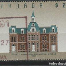 Sellos: LOTE E SELLOS SELLO CANADA GRAN TAMAÑO 2 DOLLAR ALTO VALOR. Lote 100433091
