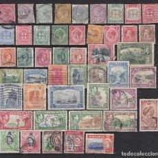 Sellos: JAMAICA - COLONIA BRITANICA AÑOS 1800 - 1950 SELLOS NUEVOS MH * Y USADOS - LOTE 25. Lote 102044435