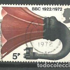 Sellos: YT 666 GRAN BRETAÑA 1972. Lote 179528990