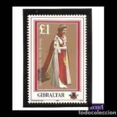 Sellos: GIBRALTAR 1986. SCOTT 491. YVERT 520. 60TH BIRTHDAY OF QUEEN ELIZABETH II. NUEVO** MNH. Lote 109374923
