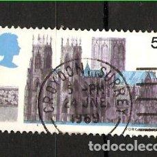 Sellos: YT 565 GRAN BRETAÑA 1969. Lote 179526367