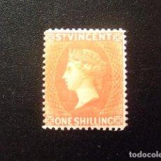 Sellos: ST. VINCENT SAINT - VINCENT 1891 REINE VICTORIA YVERT 37 * MH - SG Nº 58 * MH. Lote 114398119