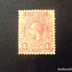 Sellos: ST. VINCENT SAINT VINCENT 1921 -32 GEORGE V YVERT 107 A FU - SG N 135 A FU. Lote 115148407
